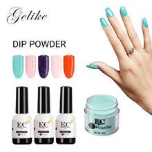 Dip Powder Nails Color Starter Manicure Kit Mirror Gel Varnish No Uv Light 10G Dip System Review Natural Acrylic Dropshipping