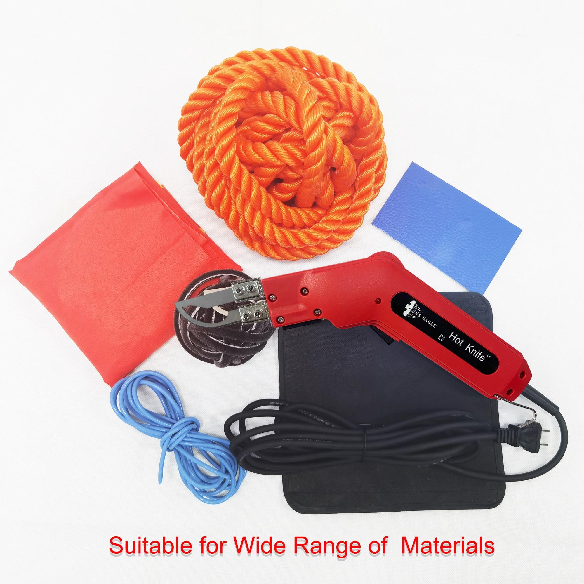 KS النسر الكهربائية الساخن سكين الحرارية القاطع باليد الحرارة القاطع رغوة قطع أدوات غير المنسوجة النسيج حبل الستار أسلاك التسخين