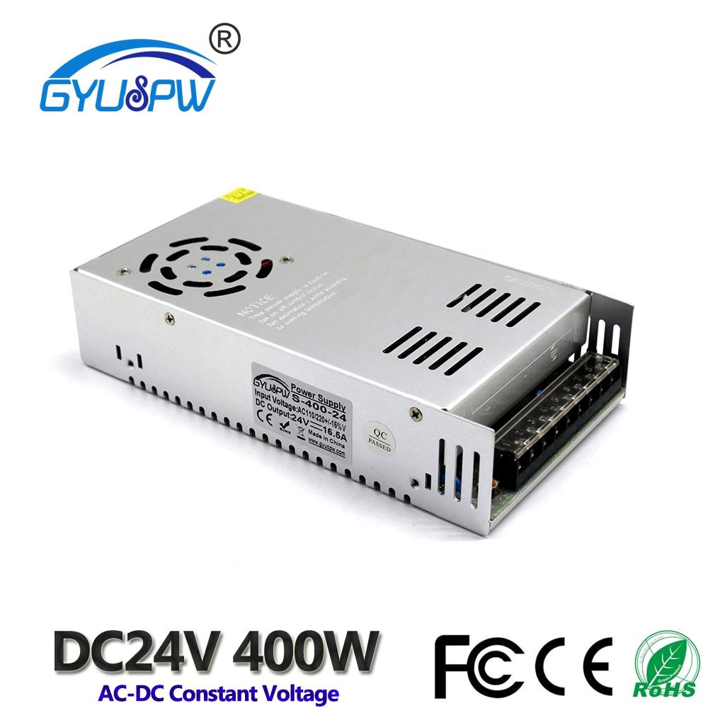 Alimentation à une sortie cc 12V 13.8V 15V 18V 24V 27V 28V 30V 32V 36V 42V 48V 60V 400W SMPS   Transformateurs AC110V 220V à DC12V