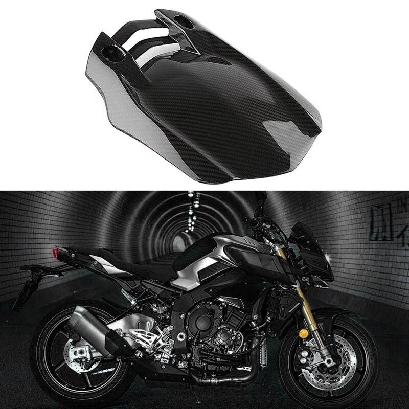 Tapa Tirm de guardabarros trasero de fibra de carbono para motocicleta YAMAHA MT10 MT-10 R1 2016-2020