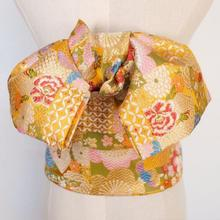 Japanese Kimono Belt Bow Waistbelt Women Girdle Multicolor