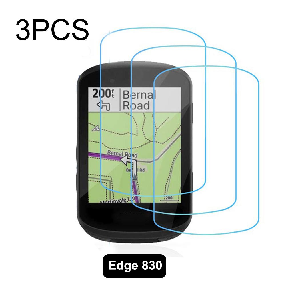 3PCS Screen Tempered Film Screen Protector for Garmin Edge 530/830 Tempered Glass Screen Protectors on AliWatcher