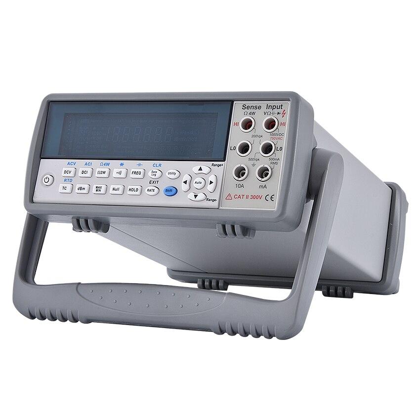 Vc8246b desktop multímetro digital 4-1/2 bit vfd display autoranging multímetro digital banco superior 110 v-220 v 20 hz ~ 1 khz
