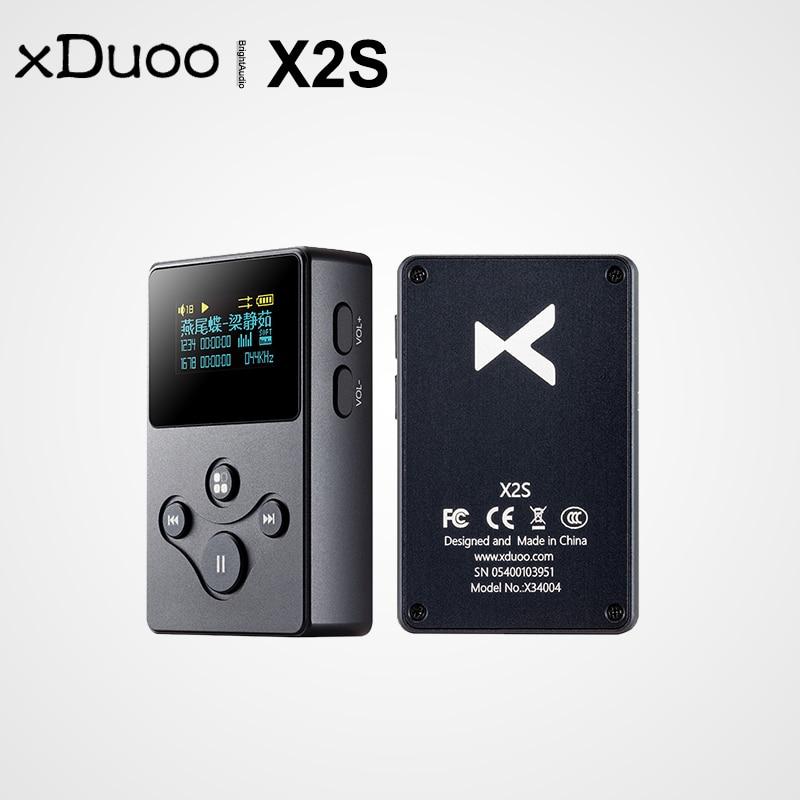 Xduoo X2S Hi-Res Lossless Mini Portable Music Player MP3 Rail to Rail Op-Amp Support DSD128 PCM 24Bi