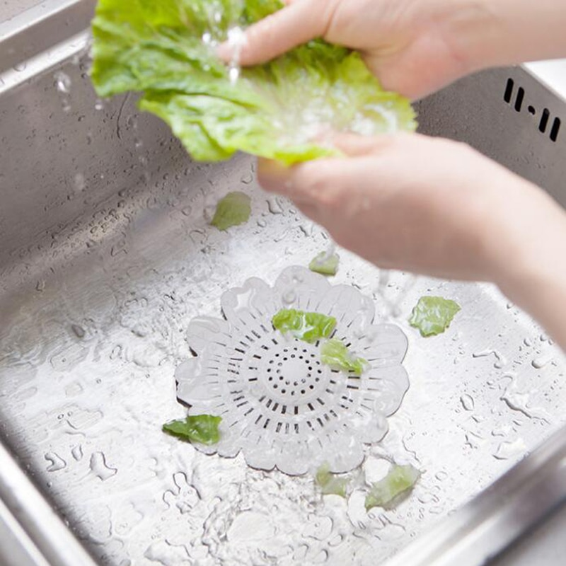Nuevo filtro de cocina Anti-obstrucción de la cubierta de la ducha de la bañera Filtro de drenaje del fregadero del suelo fregadero de drenaje de la red del pelo para baño cocina