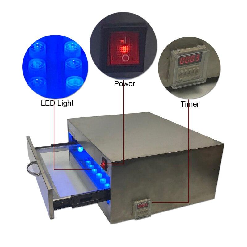 Le plus nouveau four de polymérisation de LED de boîte de polymérisation de colle UV, four de colle, lampe de lumière UV 84W 118W pour la séparation daffichage à cristaux liquides