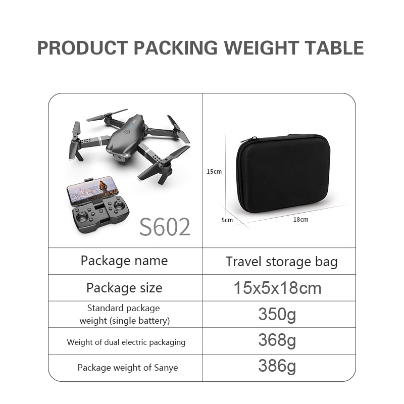 Stars 2021 New Mini Drone S002 4K 1080P HD Camera WiFi Fpv Air Pressure Altitude Hold Foldable Quadcopter RC Drone Kid Toy GIft enlarge