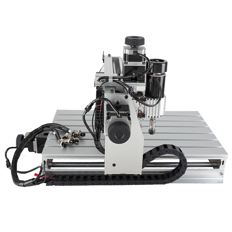 CNC 3040 4AXIS Router Engraver Ball Screw Milling Engraving Machine 3AXIS 500W CNC 3040Z-DQ USB mach3 wood Router Ball Screw enlarge