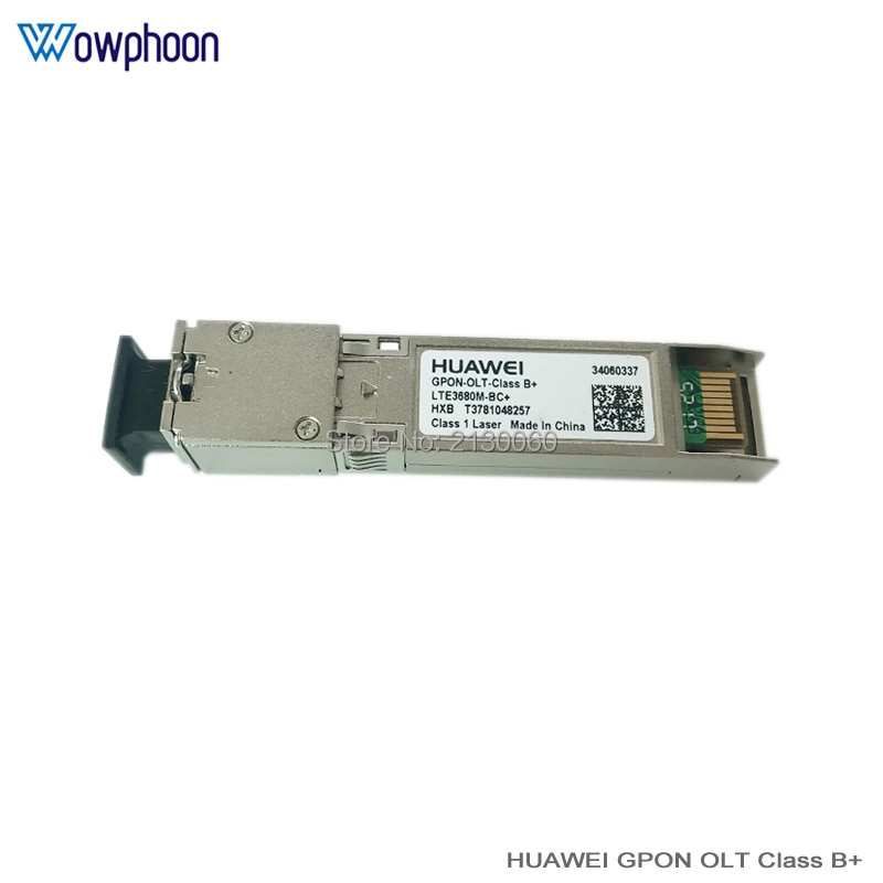 Huawei class B+ GPON OLT SFP Modules with Singlemode Single fiber Tx 1490nm Rx1310nm SC connector