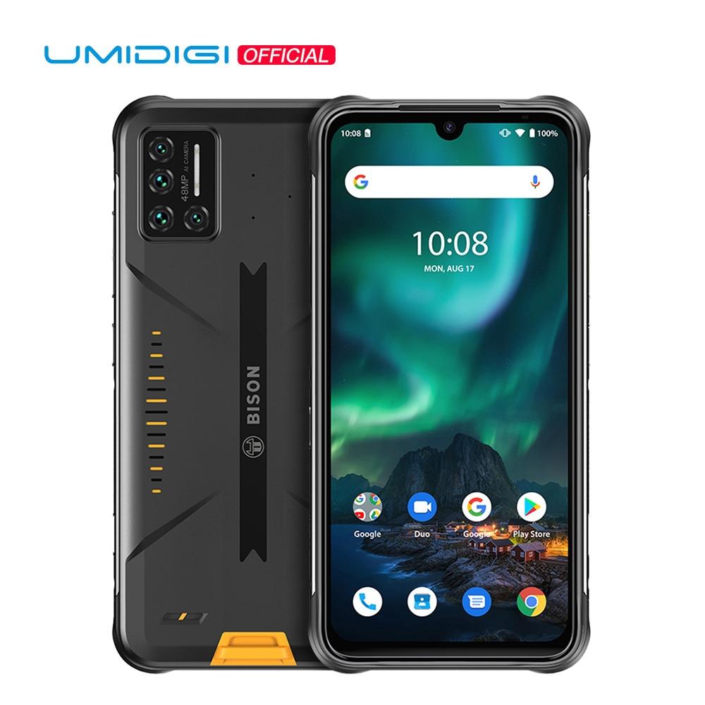 UMIDIGI BISON 48MP Matrix Quad Camera Rugged Phone IP68/IP69K Waterproof 6.3
