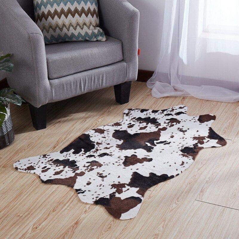3D Koe Zebra Streep Gedrukt Tapijt Voor Woonkamer Antislip Tapijten Vloermat Slaapkamer Deurmat Gebied Tapijt 75X110 Cm Tapijten