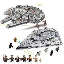 Auf Lager NEUE 75105 OLEKU Millennium Kompatibel Lepining Star Wars Set Ziegel Modelle Baustein Spielzeug Für Kinder Starwars