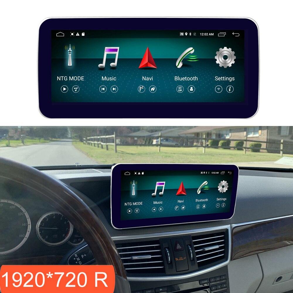 Pantalla con Android de 10,25 pulgadas 4 + 64G para Benz Clase E W212 2009-2012 Pantalla de Radio de coche navegación GPS pantalla táctil Bluetooth