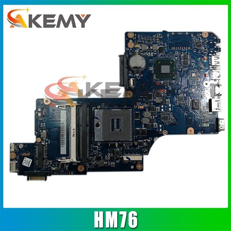 AKEMY العلامة التجارية الجديدة H000038230 اللوحة الأم للكمبيوتر المحمول توشيبا الأقمار الصناعية C870 C870D HM76 GMA HD4000 DDR3 اللوحة الرئيسية