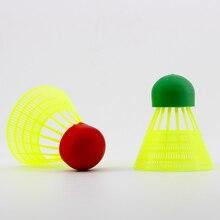 WELKIN 5pcs Mini Speed Super Nylon Rubber Ball head Badminton Shuttlecocks Great Stability Indoor Ou