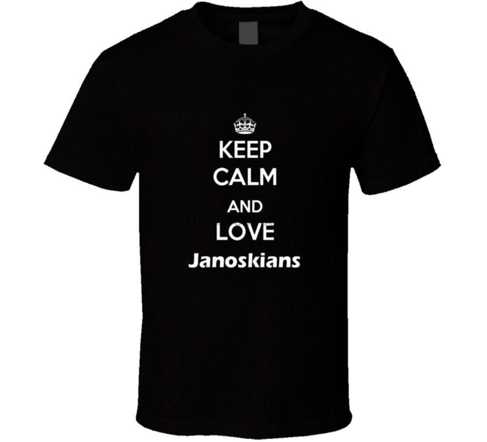 Футболка KEEP CALM AND LOVE JANOSKIANS Youtuber janoski