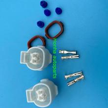Conector sellado con Sensor de nivel de aceite 90980-10532 PA66 impermeable de 2 pines con cable o sin cable