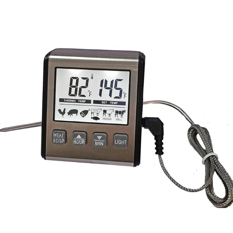 Termômetro de Carne para Churrasco Cozinha Digital Grill Comida Forno Churrasco Sonda Cozinhar Termômetro