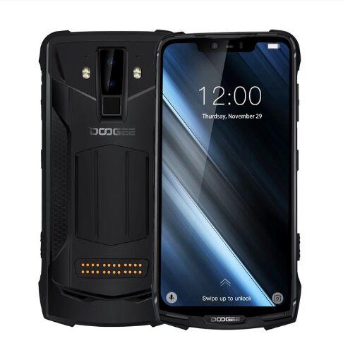 Перейти на Алиэкспресс и купить Оригинальный DOOGEE S90C IP68 водонепроницаемый мобильный телефон на процессоре Helio P70, четыре ядра, 4 Гб + 128 Гб 16MP + 8MP 6,18 дюйм12V2A 5050 мАч NFC Android 9,0