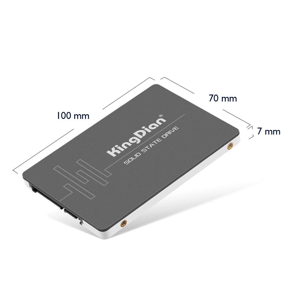 "KingDian SSD 120gb 240gb 480gb 1tb 2tb 128gb 256gb 512gb SSD SATA SATAIII disco duro interno HD SSD HDD 2,5 ""Disco de estado sólido"