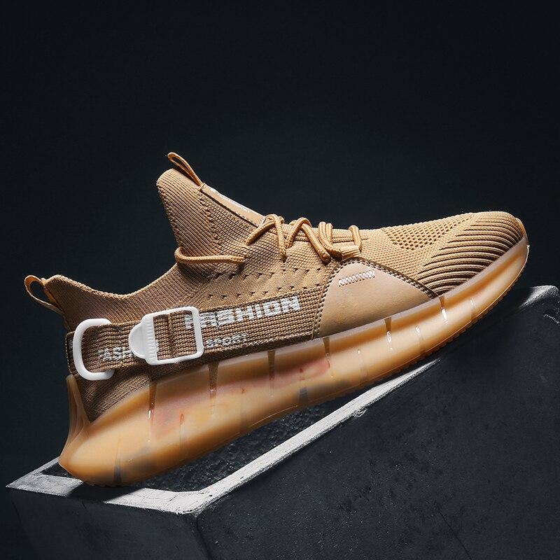 Мужские кроссовки для бега, амортизирующие спортивные уличные кроссовки, мужская спортивная дышащая обувь, Zapatillas, обувь для ходьбы и бега, р...