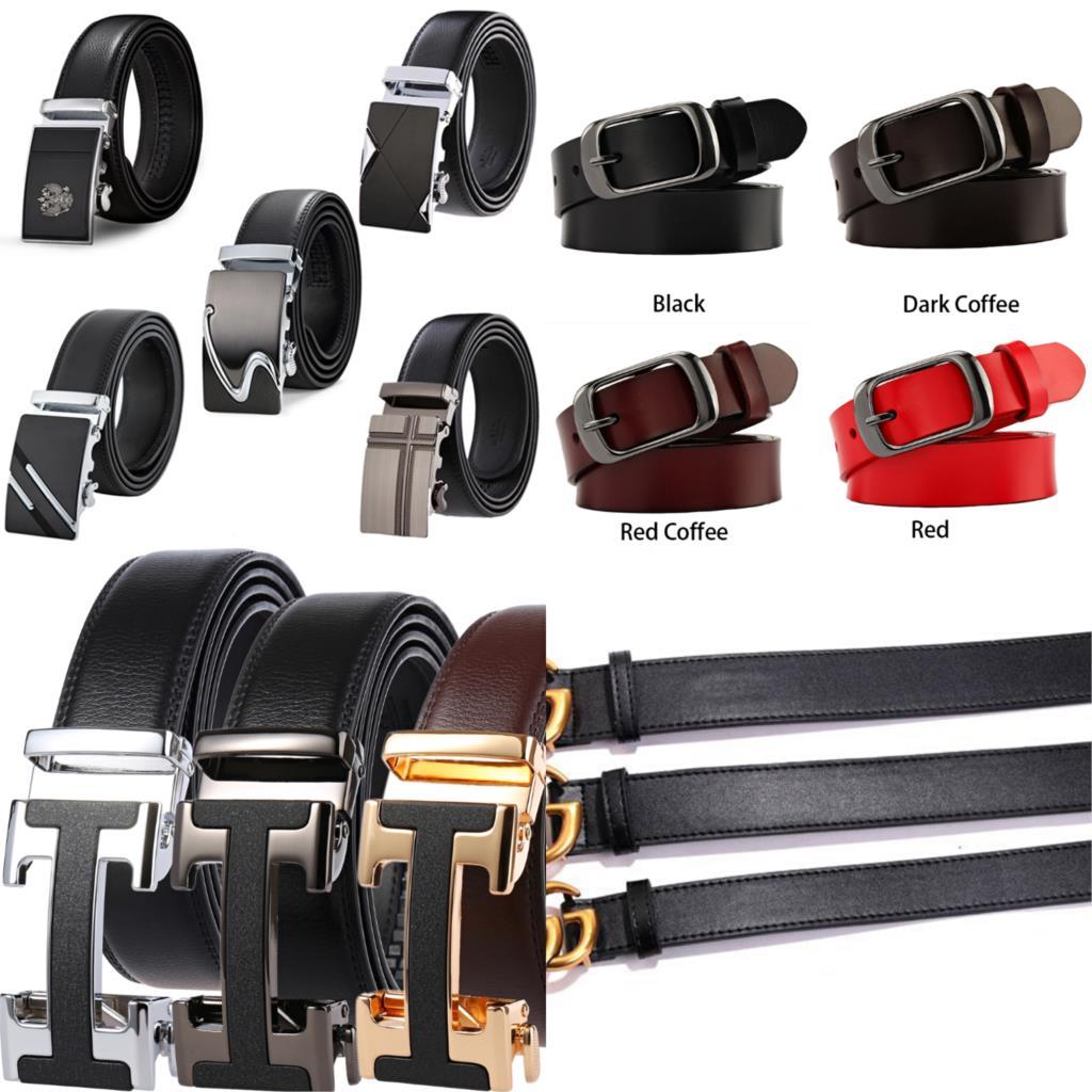 Women's Men's Luxury Designer Brand Belt High Quality Double G Classic Brass Buckle Real Genuine Lea