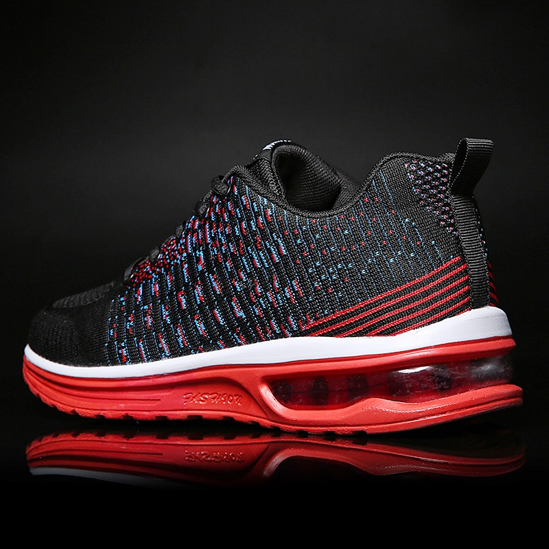 Breathable Air Cushioned Running Shoes Light Men's Sports Shoes Large Size Sneakers 45 Women's Coupl