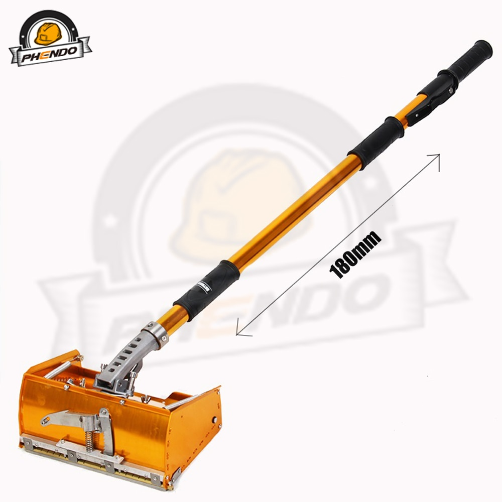 PHENDO Drywall Master Tools Plastering Flat Box Practical Drywall Taping Tools PH-10 10in DIY Wide Frame enlarge