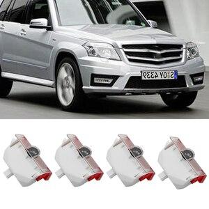 Для Mercedes Benz GLK X204 A B класс W168 W169 W245 дверь логотипа автомобиля Добро пожаловать лампы лазерный проектор огней авто Ghost Shadow Luces; Большие размеры