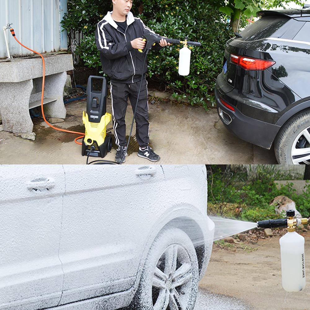 High Pressure Soap Foamer Snow Foam Lance Foam Cannon Foam Gun Nozzle Car Clean Foam Wash foam generator for Karcher Car Washer