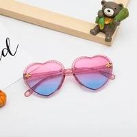 children cycling for sunglasses beach uv400 shape eyewear outdoor heart glasses transparent eyewear sun kids cycling sunglasses
