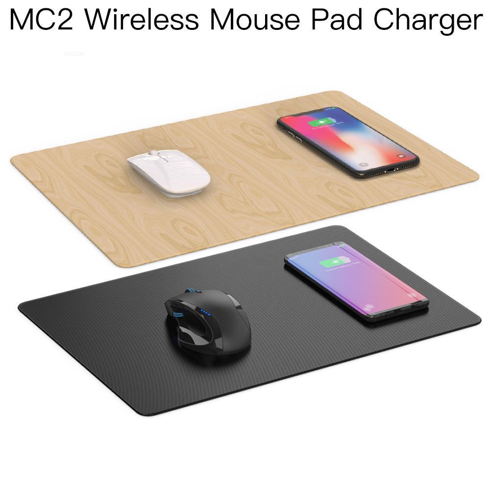 JAKCOM-alfombrilla de ratón inalámbrica MC2, cargador más nuevo que tacx rodillo 12...