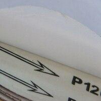 25PCS 5inch Sanding Discs Sandpaper 60 80 120 180 240 Peel Stick Sander 125mm Round Polishing Cleaning Tools