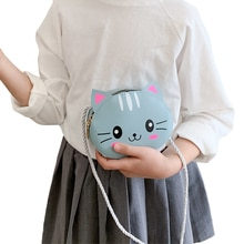 5 Styles Newest Arrival Kids Girl Crossbody Bags Cute Cartoon Animal Coin Purse Handbag Children Wallet Small Coin Bag