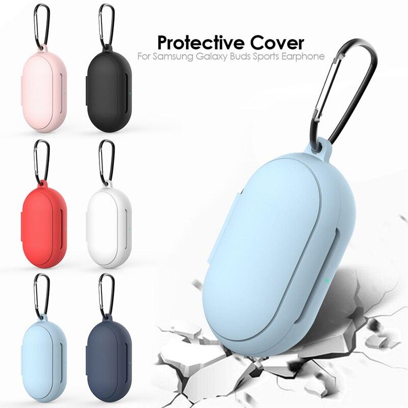 Para Galaxy Buds + Plus funda protectora de silicona suave para Samsung Galaxy Buds Bluetooth auriculares deportivos Accesorios