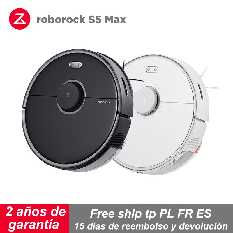 Robot aspirador Roborock S5 Max versión de actualización aspiradora para uso doméstico inteligente planificada con 20000 Pa