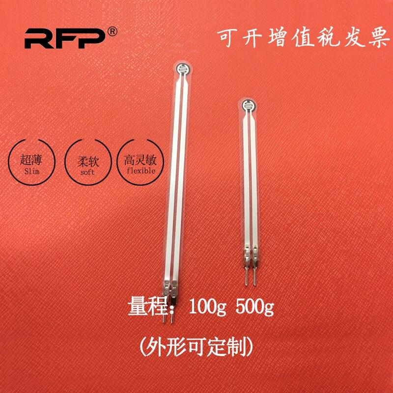 Sensor de presión de película RFP601 piezoresistivo sensor táctil ultrafino cojín de pie interruptor de presión se puede personalizar