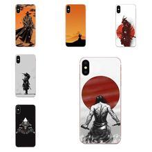 Japan The Samurai Soft TPU Covers For LG G3 G4 G5 G6 G7 K4 K7 K8 K10 K40 K50 Q6 Q60 V10 V20 V30 V40 Nexus 5 5X 2017