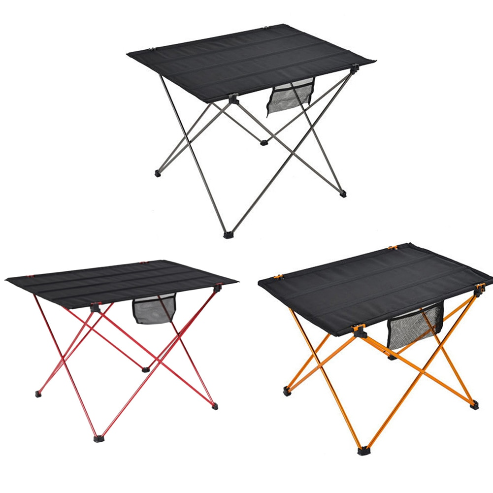 Large Aluminum Folding Table Multifunctional Portable Outdoor Camping Picnic Barbecue Household Computer Desks