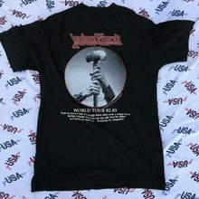 Vintage 80s JUDAS PRIEST 82-83 Screaming For Vengeance World Tour New t-shirt