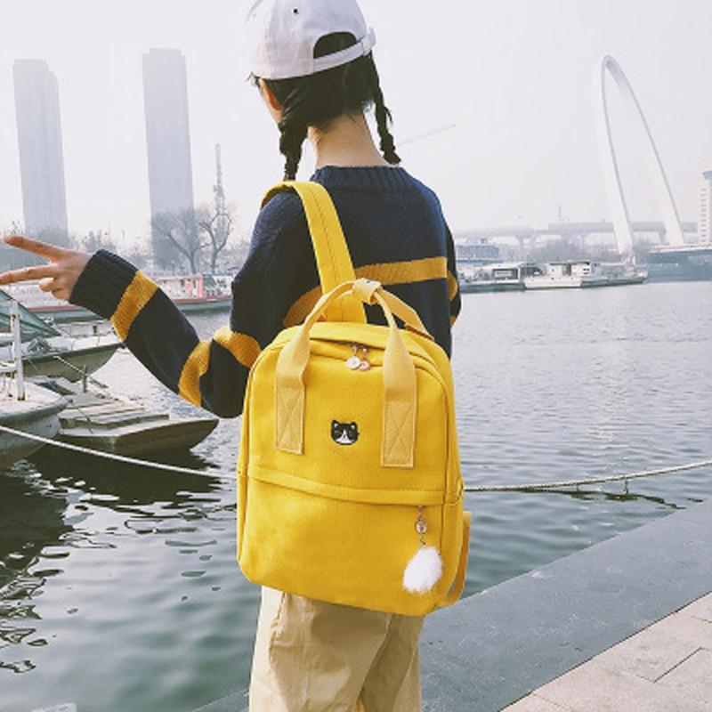 حقائب يد نسائية جديدة متعددة الجيوب من النيلون بجودة عالية نمط إسباني بكتف واحد