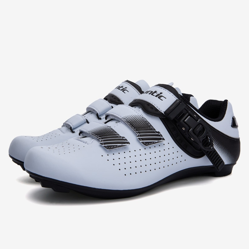 Santic New  Road Cycling Shoes Men Road Bike Shoes Ultralight Bicycle Sneakers Self-Locking Professional Breathable Asia Size