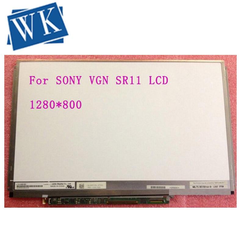 """LTD133EWZX Screen 13.3"""" LED screen For SONY VGN SR11 SR190 SR590 SR290 SR430J SR13 SR16 SR23 SR26 Laptop LCD screen Replacement"""