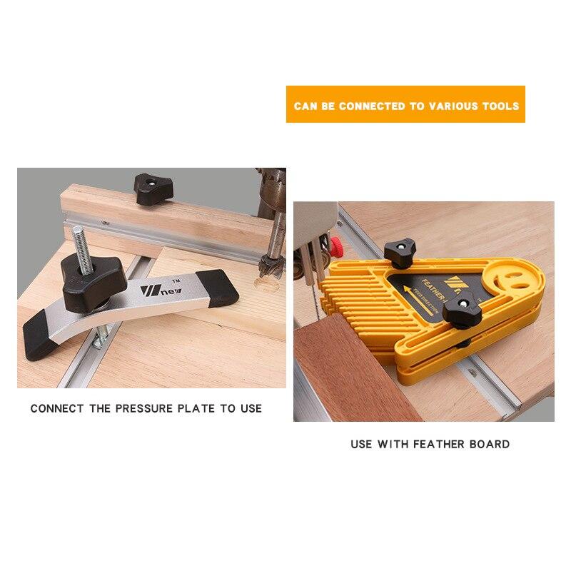1.2M obróbka drewna ograniczenie rynny T złącze slotu szyna prowadząca elektryczna piła tarczowa odwróć stół piła stół przecinak rowek