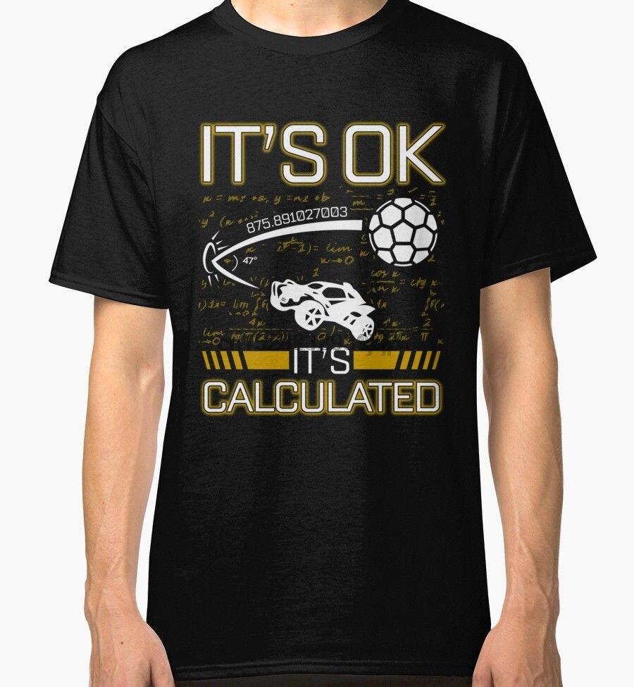 Cohete League-camiseta negra para hombre de camiseta negra tamaño S-2XL