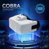 Eachine & Skyzone Cobra S 800x480/Cobra X 1280x720 5.8Ghz 48CH RapidMix Receiver FPV Goggles With Head Tracker DVR For RC Drone