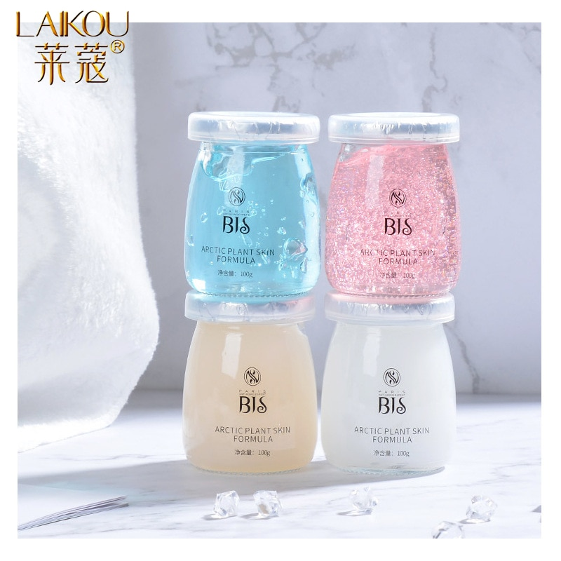 LAIKOU Hyaluronic Acid Sleeping Face Mask Moisturizing Oil Control Shrink Pores Wash-off First Aid Face Mask Whitening Skin Care недорого