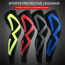 1PC Sports Kneepad Knee Protector Brace Strap Breathable ANTI-UV Outdoor Cycling Basketball Leg Slee