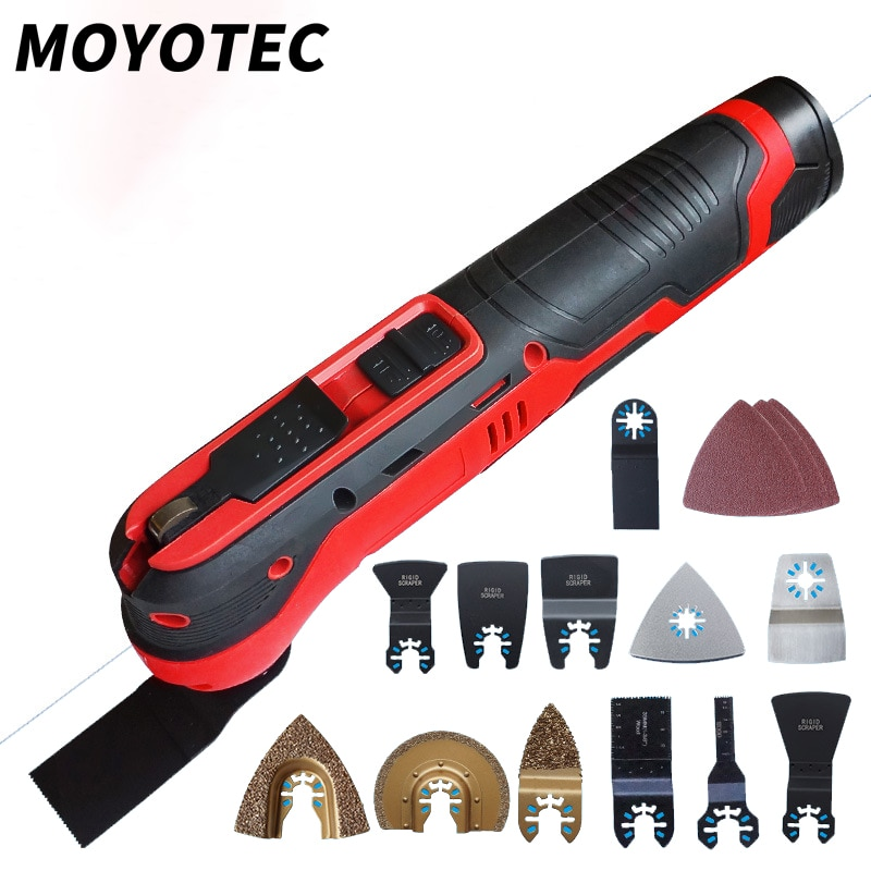 MOYOTEC-أداة تذبذب لاسلكية ، أداة طاقة متعددة الوظائف ، بطارية ليثيوم ، 12 فولت