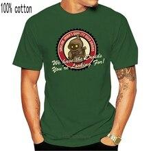 100% bawełna O-neck Custom Printed Men T shirt uśmiechnięta Jawa używana koszulka damska Droids